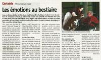 Article dans le Pays Dolois de décembre 2012
