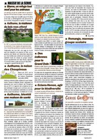 Bulletin Serre Vivante